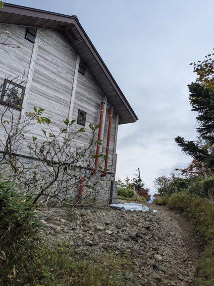 黒谷地~茶臼岳 茶臼山荘