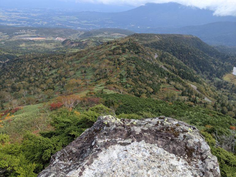茶臼岳からの眺め