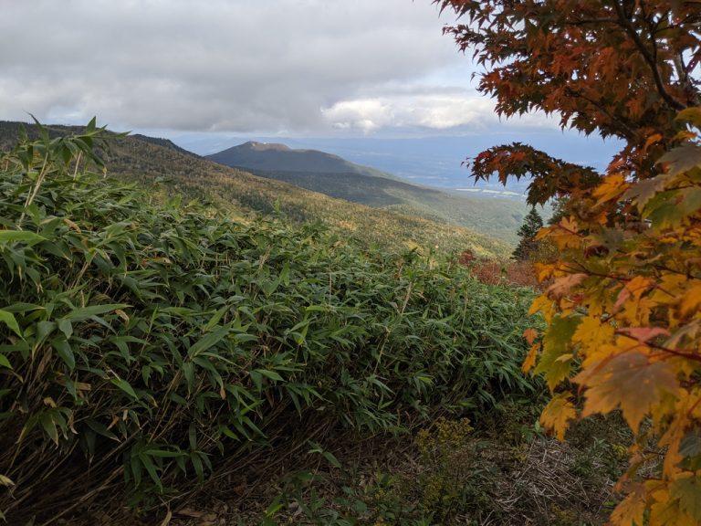 茶臼山荘~茶臼口