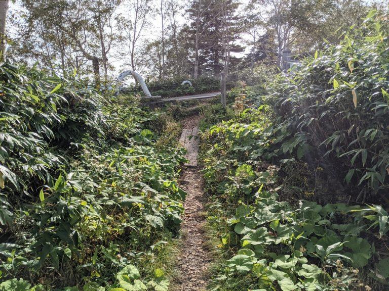 茶臼岳登山口