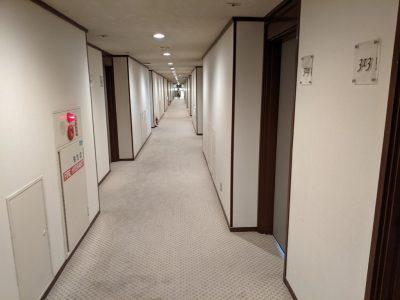 八幡平マウンテンホテル廊下