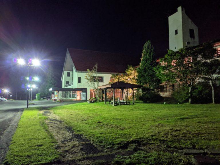 八幡平マウンテンホテルの夜