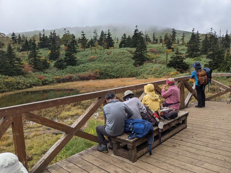 三ツ石山荘から見える(?)三ツ石山