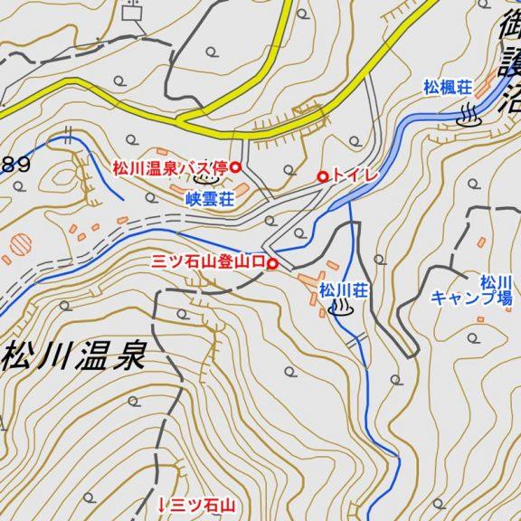 松川温泉図